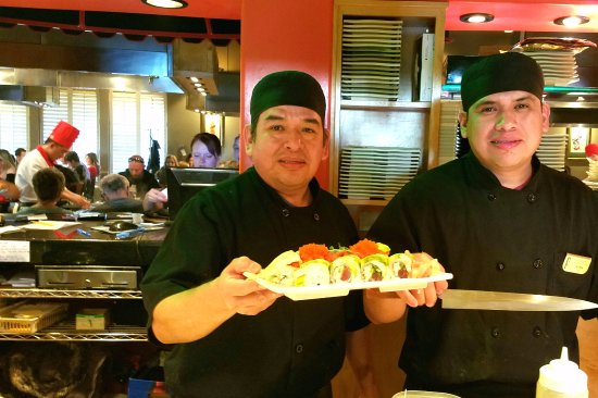 Clearfield, UT: These guys know how to prepare sushi. Betcha they make a mean carne asada burrito too. :-)