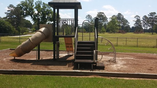 Warner Robins, GA: Playground close-up