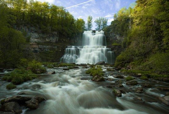 Cazenovia, Estado de Nueva York: Ethereal Falls 01