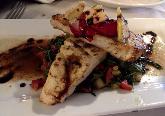 Christiansburg, VA: Seared fish with roasted tomatoes - daily special
