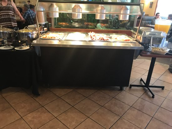Airdrie, Canada: The extent of the buffet.