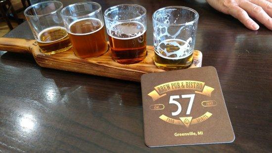 Greenville, MI: Good Beer Choices - 4 oz sampler