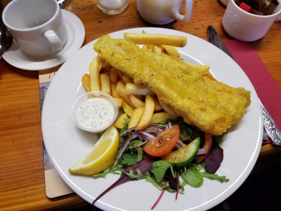 Clonbur, Irlandia: AMAZING Fish and Chips