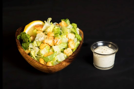 Fernie, Canada: Caesar Salad. Top it off with bacon, chicken or italian sausage for a meal!