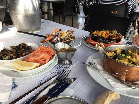Lisbon District, Portugal: Mix fish
