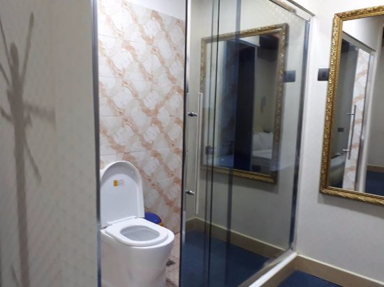 Mabalacat, Philippines : Small but clean Toilet