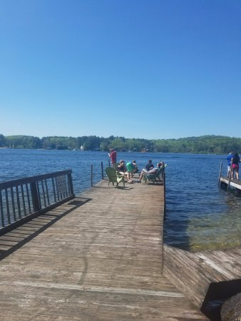 Laconia, NH: The docks at Birch Knoll