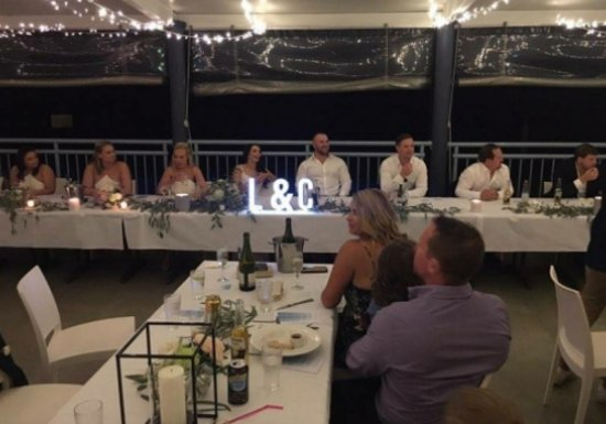 Evans Head, Australia: we are a very known venue for weddings and functions throughout the year
