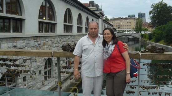 Triple Bridge (Tromostovje): Sagra dei Lucchetti