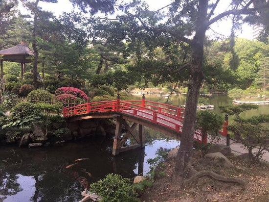 Shukkei-en Garden : Beautiful garden.  Also, your kids can get a bag full of fish food for 100 yen.