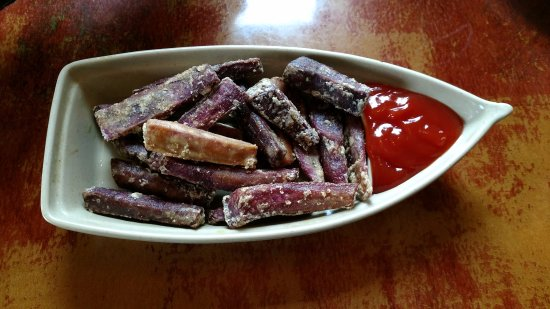 Denville, Nueva Jersey: Purple Yam Fries