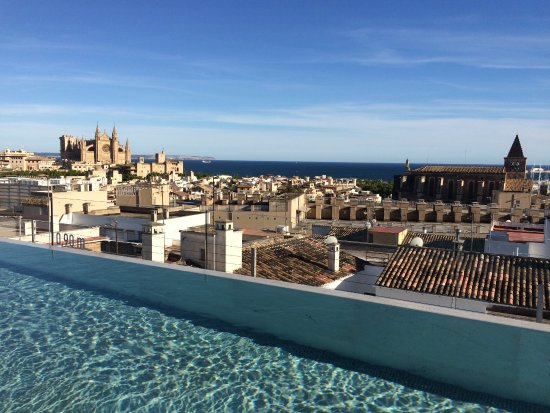 Rooftop Pool Picture Of Nakar Hotel Palma De Mallorca