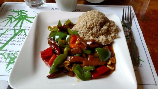 Denville, Nueva Jersey: Beef (Tempeh) and Vegetables