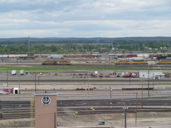 Golden Spike Tower and Visitor Center: Bailey Yard, the largest in the world
