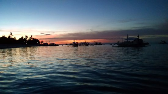 Thresher Shark Divers: rosy dawn on a shark dive day