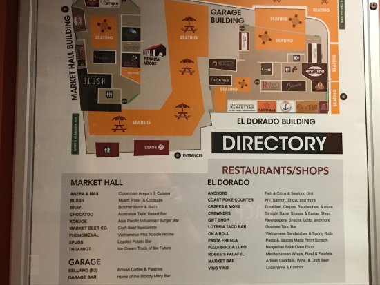 San Pedro Square Market: Directory, SO much good food!