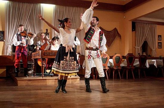 Folklore Evening Including Traditional Czech Dinner in Prague