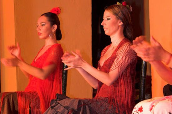 Show de flamenco no Tablao Flamenco...