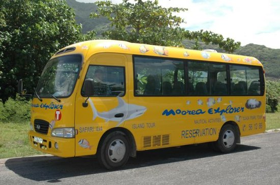 Shared Departure Transfer: Hotel to Moorea Airport or Pier