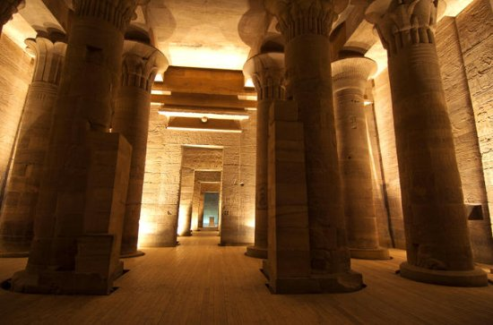 Philae Temple Sound og Light Show med...