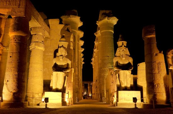 Karnak Sound and Light Show with...