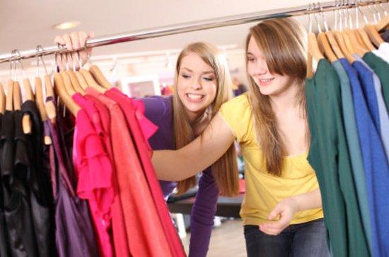 Winkel- en mode-accessoiretour voor tieners in Parijs