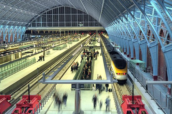 London St. Pancras Eurostar Private...