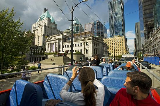 Vancouver City Hop-on Hop-off Tour with Three Route Options