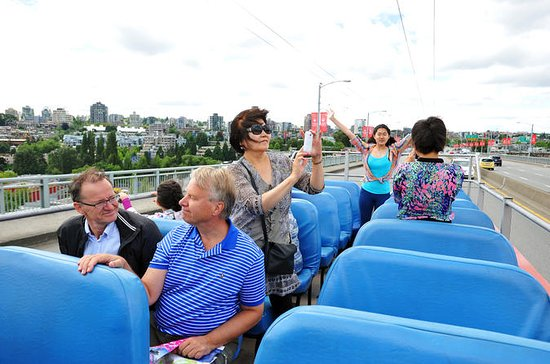 Vancouver Hop-On Hop-Off 2-Day Tour and Attractions Combo