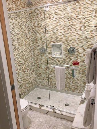 Santa Maria Suites Hotel: Double Shower - Rain Heads