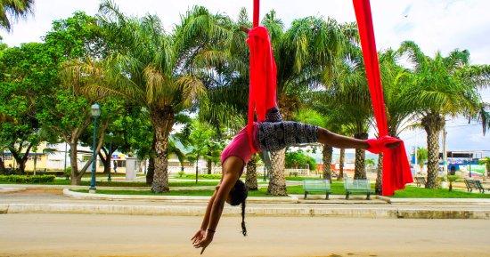 Coco Bongo: Just hanging around...