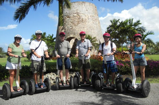 Visite en Segway de Fort James, à St...