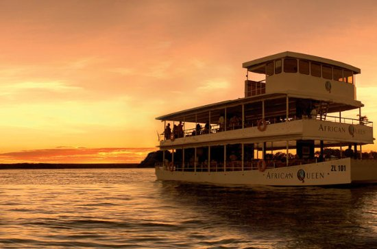 Sunset Zambezi River Cruise from...