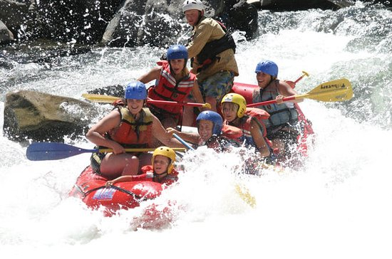 Zambezi River Whitewater Rafting...