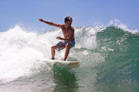 Surf Lesson in the British Virgin...