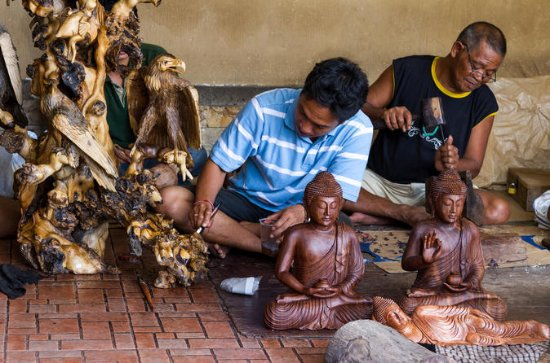 Experience Bali: Private Craft, Food and Massage