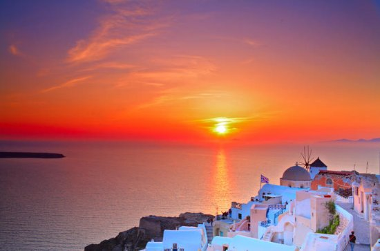 Oia Sunset and Traditional Villages...