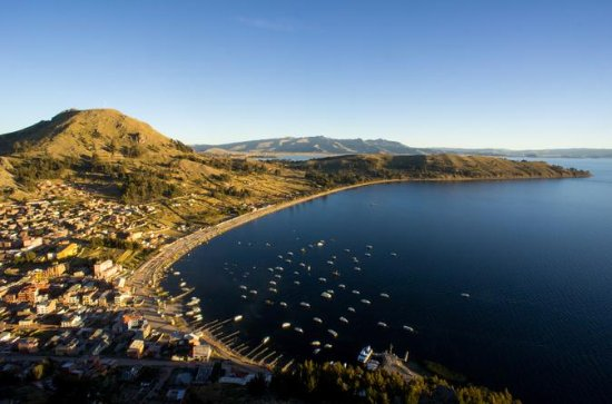 Lake Titicaca, Copacabana and Sun...