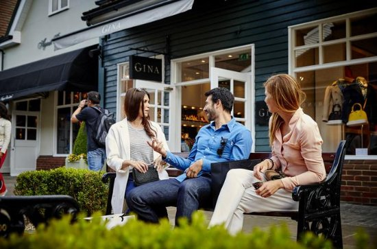 Bicester Village Shopping Tour from London: Gift Card, Lunch