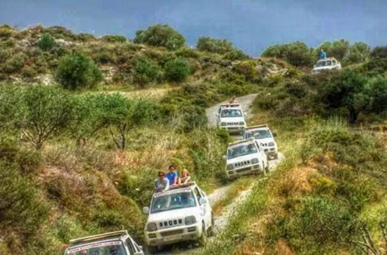 Crete Mainland 4x4 Self-Drive Safari...