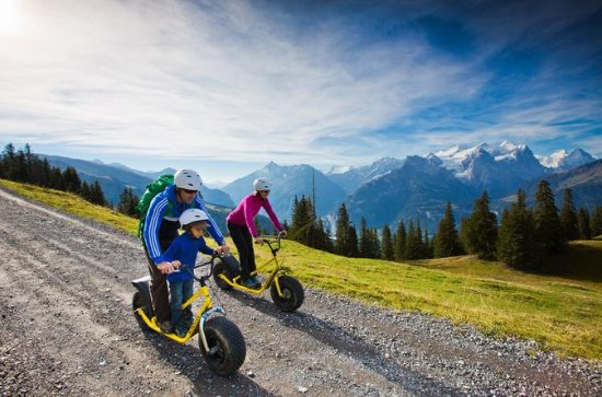 Bernese Alps Monster Scooter Mountain...
