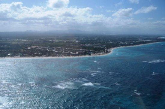 Passeio de Helicóptero pelas Praias de Punta Cana