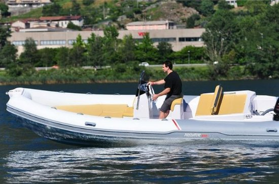 Rent a rigid inflatable boat for up...