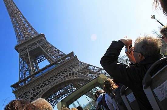 Skip The Line Eiffel Tower Ticket Hop On Hop Off Bus Tour and River...