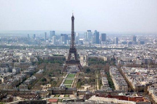 オプションのクルーズ付きパリ観光ツアー