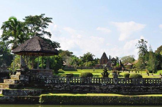 バリ寺院サンセット ツアー:タマン アユンとタ…