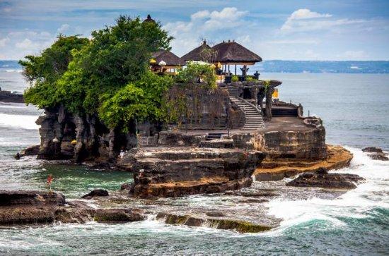 バリ水の寺院ツアー:タナロット、ウルン ダヌ、タマン アユン