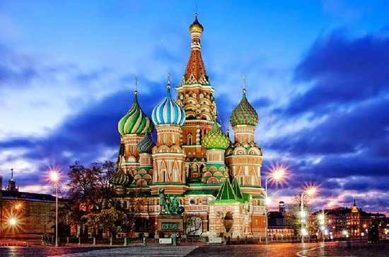 Saint Basil's Cathedral Early Opening...
