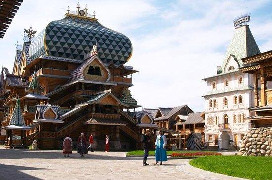 Izmailovo Kremlin with Matreshka...