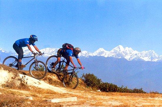 Mountain Biking Day Trip To Chobhar and Kirtipur Hilltop from...
